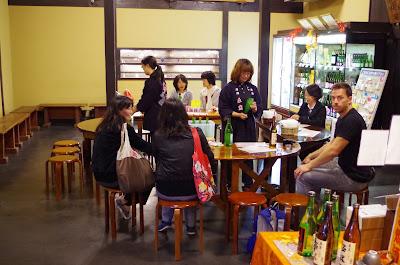 Harushika Brewery & Sake Tasting, Nara.