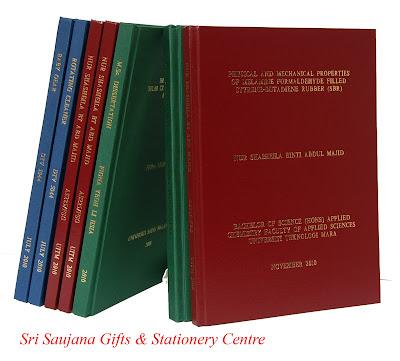 thesis hardcover binding penang