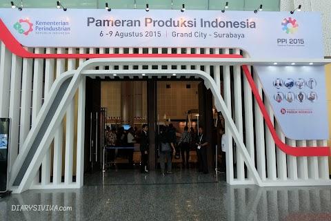 Aneka Produk Unggulan Pameran Produksi Indonesia di Surabaya