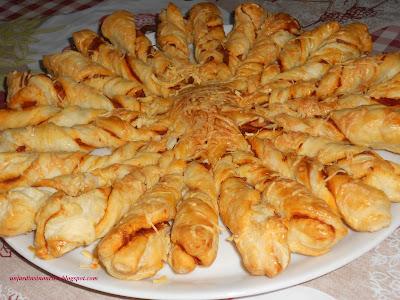 Recette Tarte Soleil Chorizo pour l'apéritif