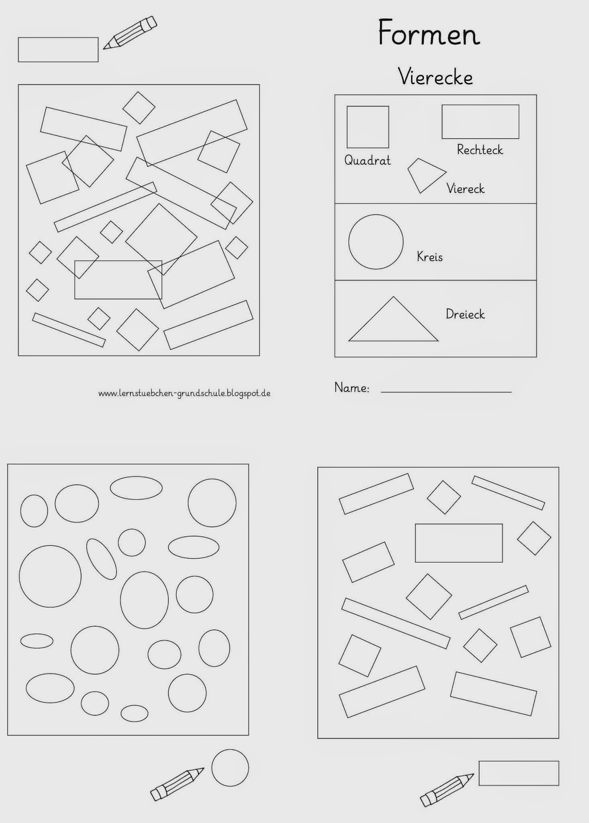 lernst bchen formen erkennen. Black Bedroom Furniture Sets. Home Design Ideas