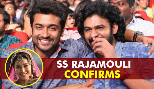 S S Rajamouli Breaks Silence About Madhuri Dixit And Surya on Being a Part of Baahubali 2 - Telugu Cinema