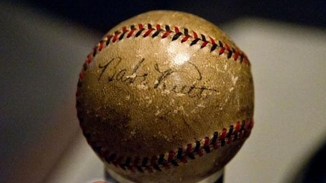 Firma del el bambino, Babe Ruth