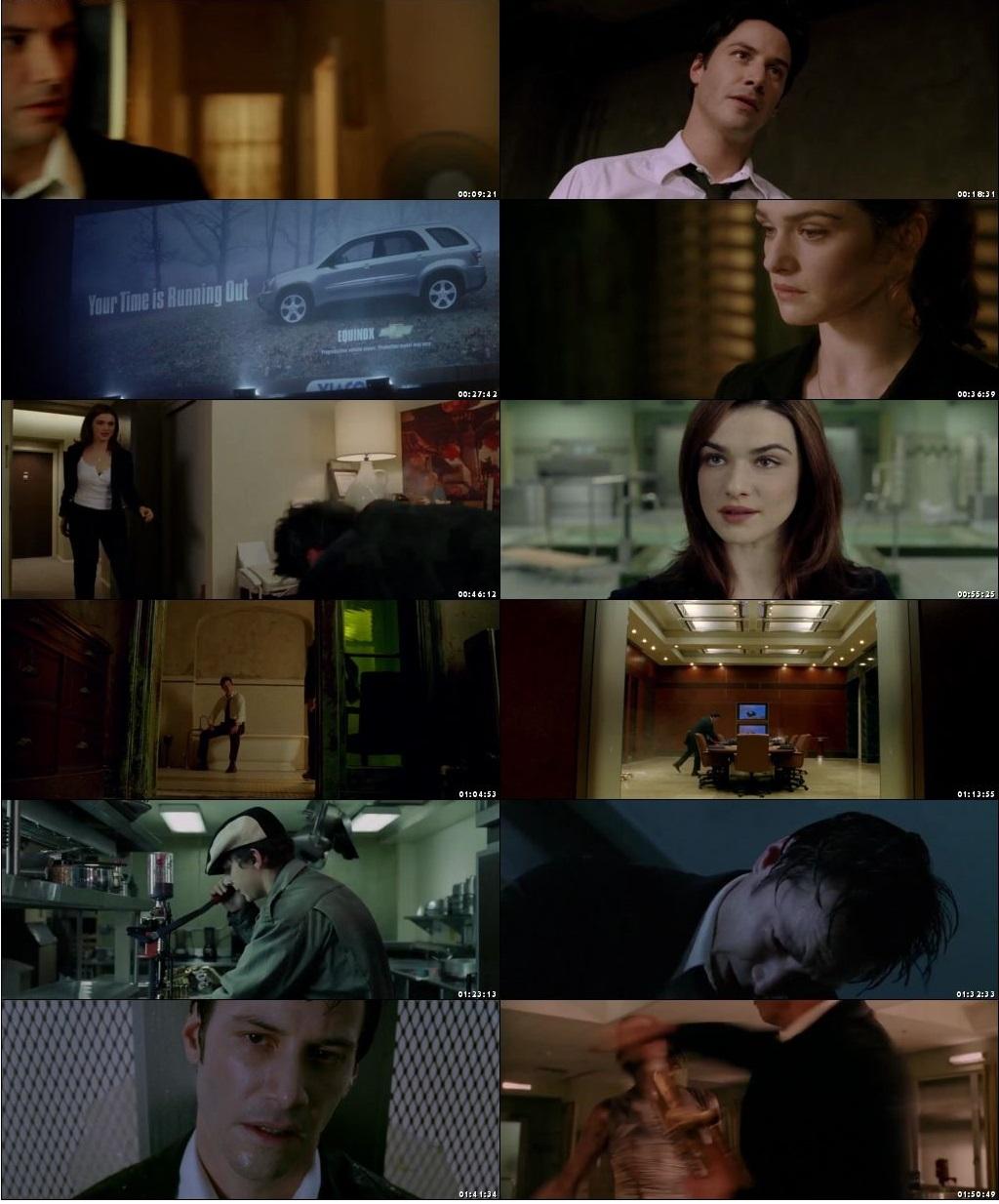 Screen Shot Of Constantine 2005 In Hindi English Dual Audio Bluray