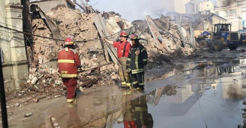 MESA REDONDA: Zona comercial del Centro de Lima estará cerrada tres semanas