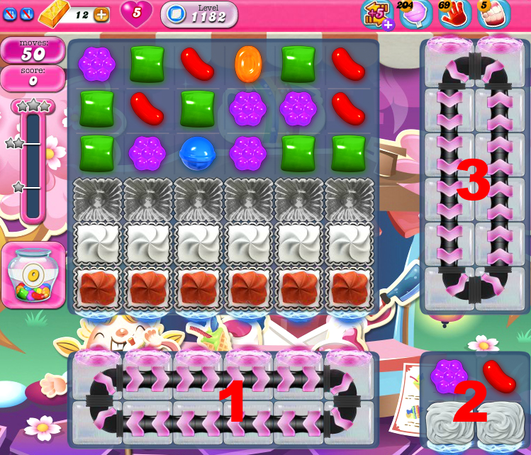 Candy Crush Saga 1182
