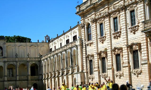 Seminario, monumenti, palazzi, piazza