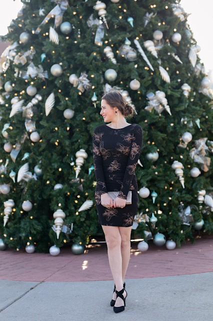 LBD Holiday Party Outfit