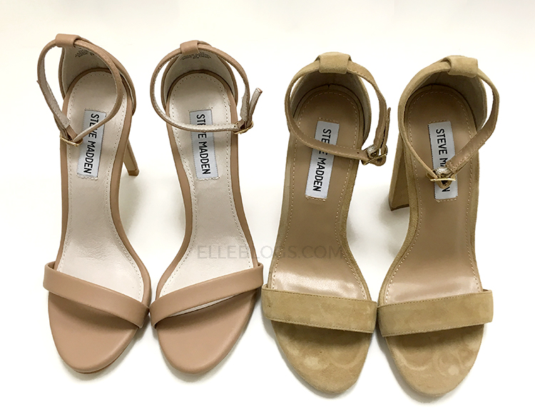 d320d8ccf6f Review  Steve Madden Carrson Suede Sandal - Elle Blogs