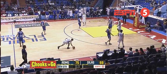 Ateneo def. Gilas Pilipinas Cadets, 75-69 (REPLAY VIDEO) 2018 FilOil Flying V Preseason Cup | April 21