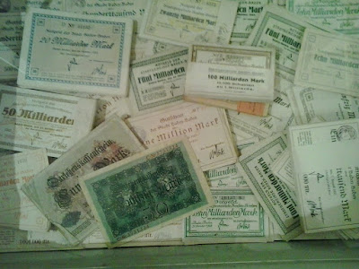 Billets banque Allemagne Weimar