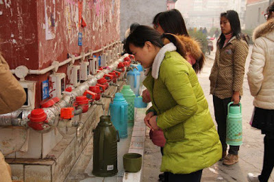 المياه الساخنة، الصين، عالم العجائب
