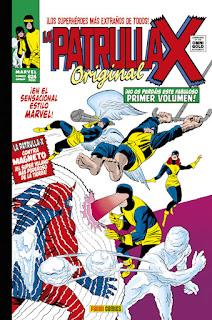 LA PATRULLA X ORIGINAL 1 ORIGENES  Marvel comic de  Stan Lee, Jack Kirby, Alex Toth, Roy Thomas y Werner Roth ORÍGENES MARVEL GOLD