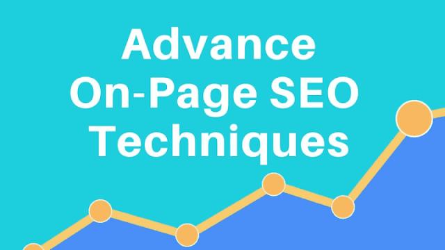 Advance on page SEO Techniques