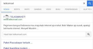 Kesal, Anonymous Retas Situs Telkomsel