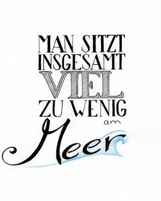 Man sitzt insgesamt viel zu wenig am Meer | www.zeitunschaerfe.de
