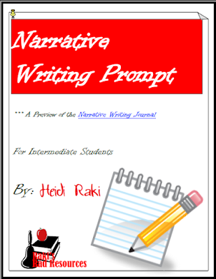 Free Narrative writing prompt to help your students learn about the writing process - free download from Raki's Rad Resources.