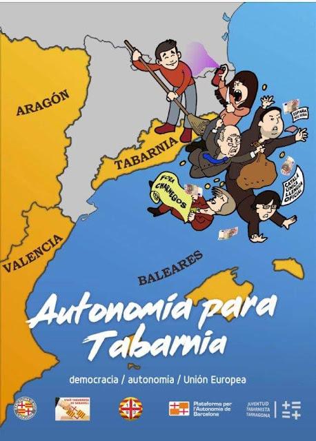 Autonomía para Tabarnia , autonomia per a Tabarnia,Tarragona,Barcelona