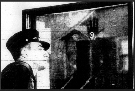 The Ghostly Handprint of Francis Leavy
