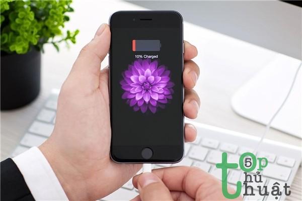 Hướng dẫn sạc pin đúng cách trên iPhone