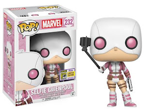 Pop! Marvel: Gwenpool with Selfie Stick.