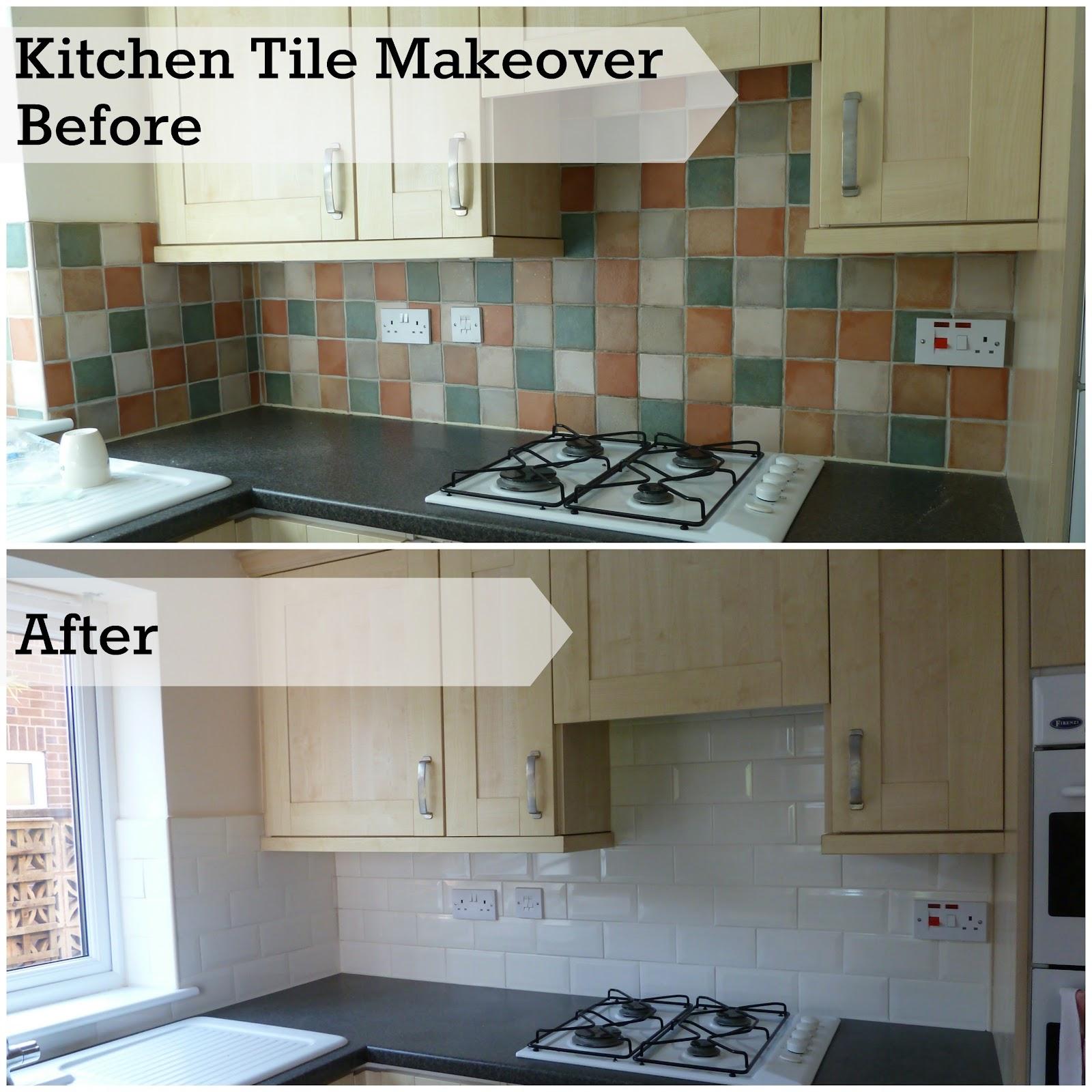 Refurbishing a kitchen new tiles