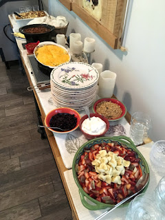 Special Cinco de Mayo breakfast buffet at St Francis Cottage.