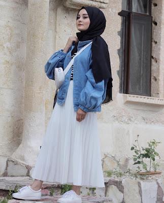Robe hijab longue 2019