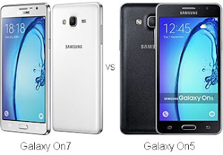 Perbandingan Samsung Galaxy On7 vs On5