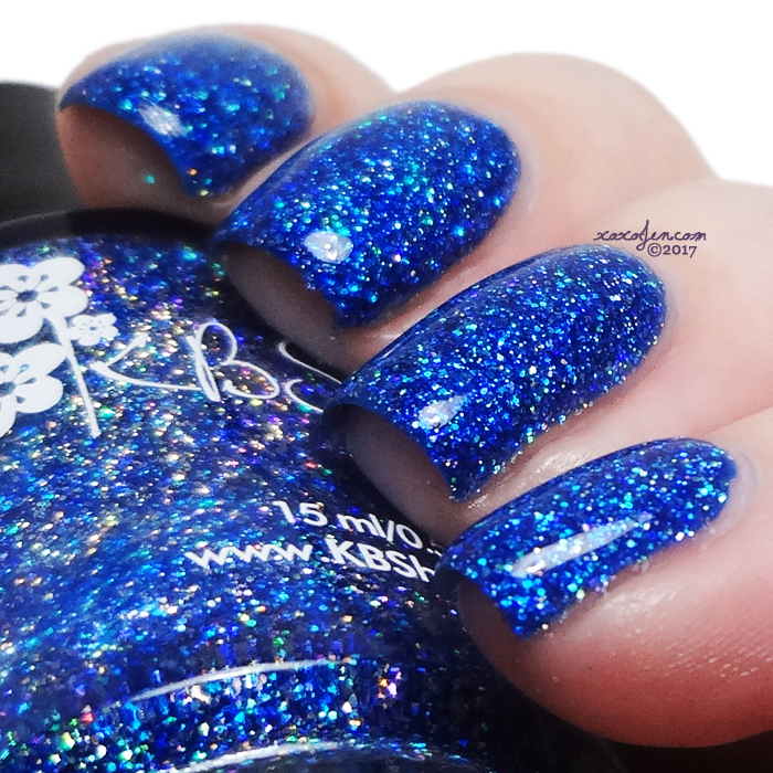 xoxoJen's swatch of KBShimmer Jewels Of The Trade