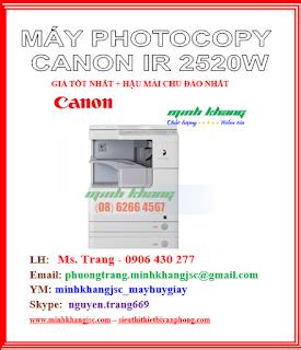 máy canon ir 2520w, máy photo canon giá rẻ nhất