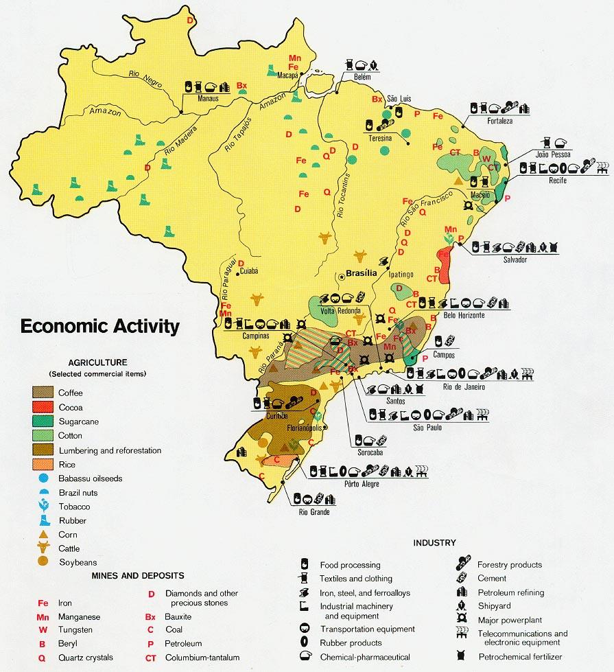 Mapas Geográficos do Brasil