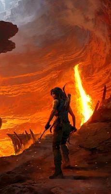 Shadow of the Tomb Raider - The Forge - Fond d'Écran en QHD pour Mobile