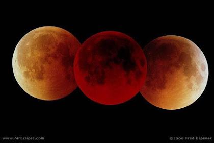 Ini Beberapa Hal Yang Harus Diwaspadai Saat Terjadi Gerhana Bulan Total