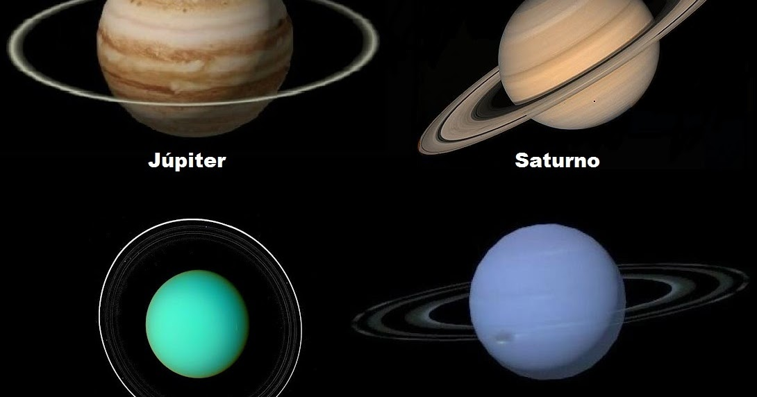 what four planets have rings - photo #7