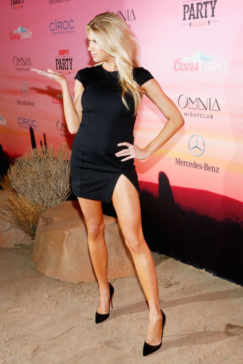 Charlotte Mckinney at ESPN Party in Scottsdale
