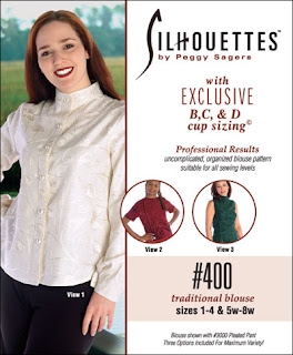 Creates Sew Slow: Silhouette Patterns Traditional Blouse #400