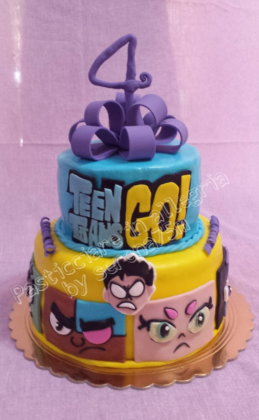 Preferenza Pasticciare in allegria: Torta Teen Titans GO! UM34