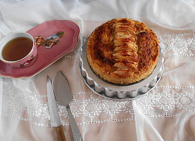receita bolo mágico maçã e canela