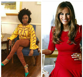 Chimamanda Adichie calls Melania Trump racist