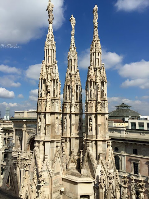 Une journée à Milan, il Duomo et Ryanair