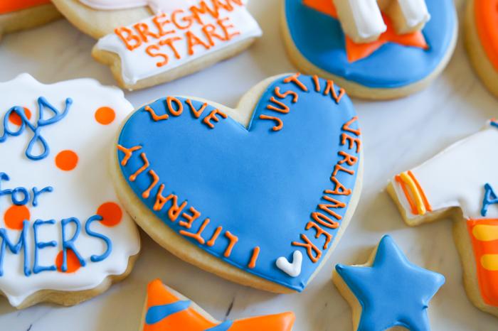 Houston Astros Cookies ♥ bakeat350.net : Justin Verlander