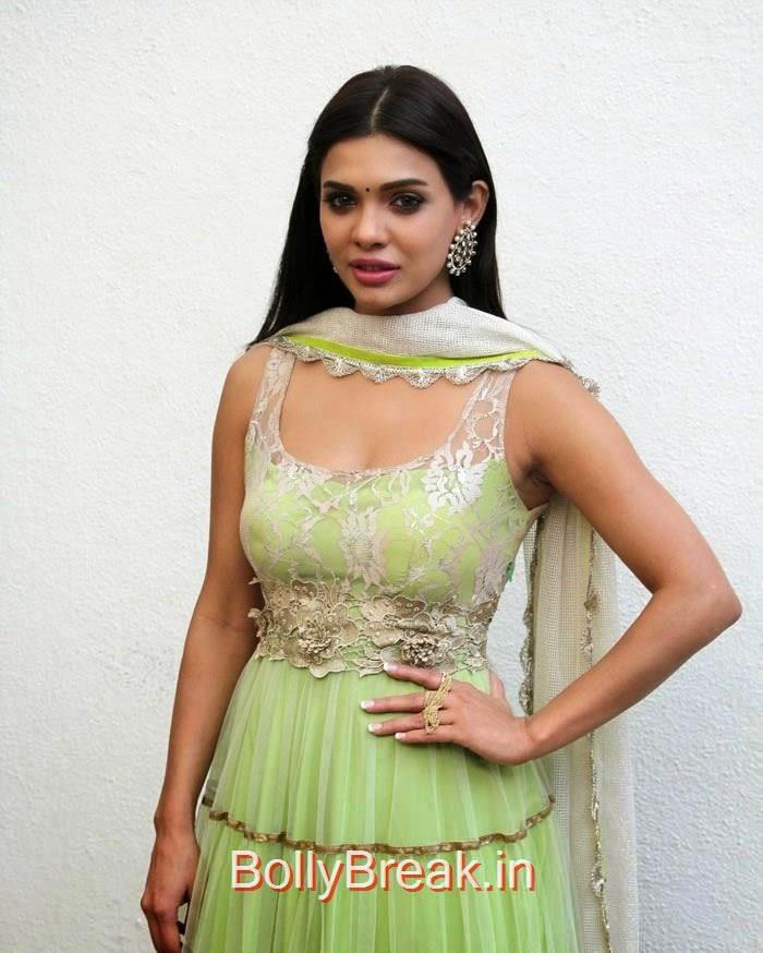 Sara Loren, Hot Pics of Sara Loren, Shweta Pandit At 'Barkhaa' Trailer Launch