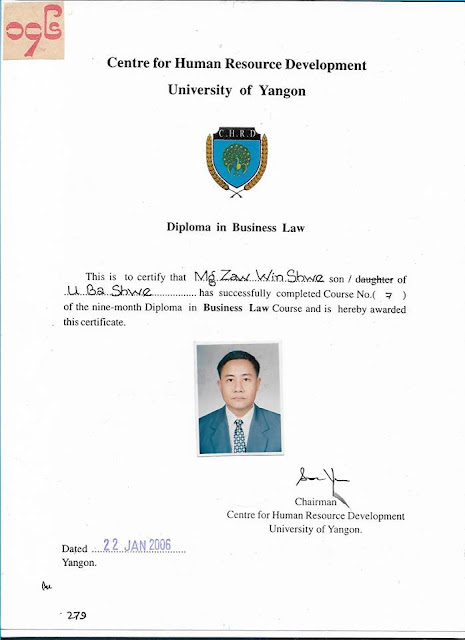 Diploma in Business Law