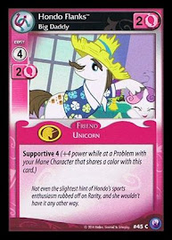 My Little Pony Hondo Flanks, Big Daddy Canterlot Nights CCG Card