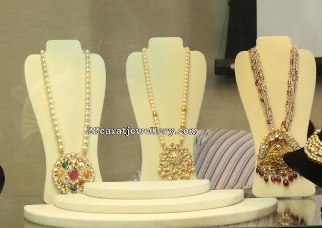 Pearls Kundan Sets by Jaipur Gems