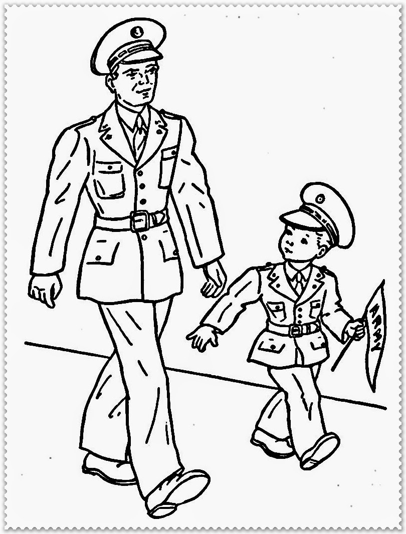 free veterans day coloring pages printable