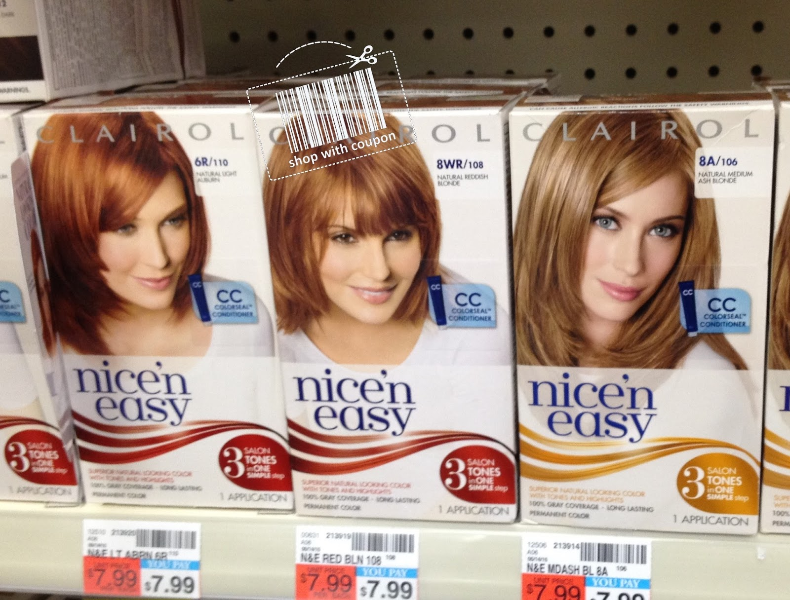 Shop With Coupon Cvs Last Chance Clairol Nice N Easy Hair