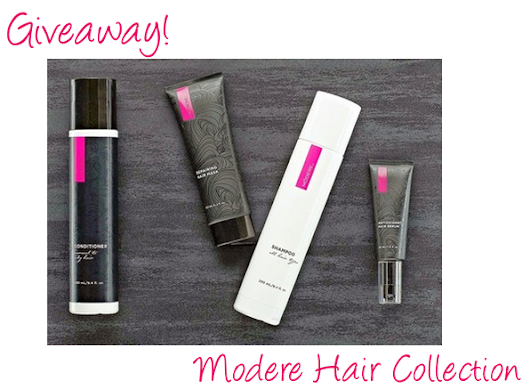Giveaway Break - Modere Hair Collection