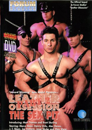 Leather Obsession 2 The Sex Pit Cover Front